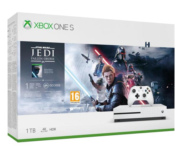 Microsoft Xbox One S + STAR WARS: Upadły Zakon - 527911 - zdjęcie