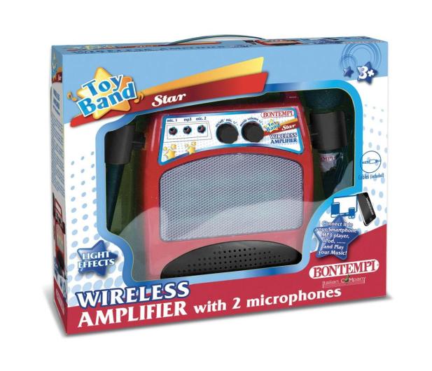 Bontempi Wzmacniacz z 2 mikrofonami - 529366 - zdjęcie 2