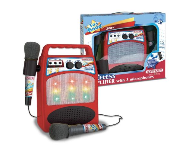 Bontempi Wzmacniacz z 2 mikrofonami - 529366 - zdjęcie 3