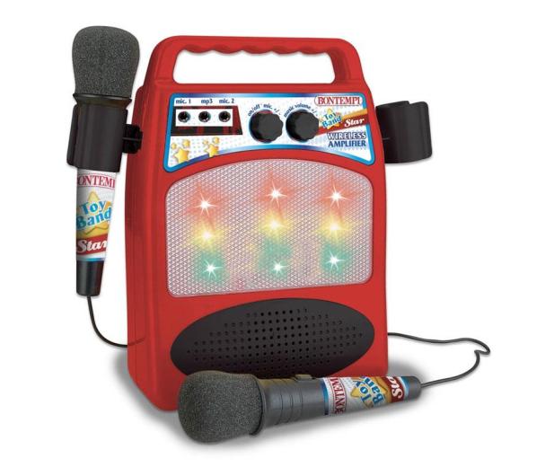 Bontempi Wzmacniacz z 2 mikrofonami - 529366 - zdjęcie