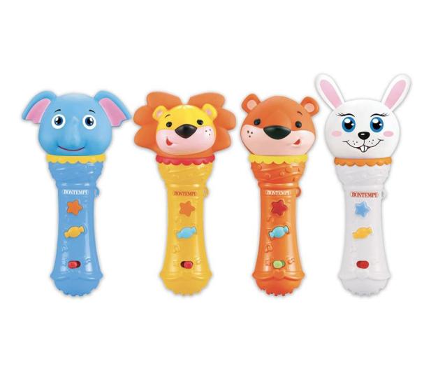 Bontempi Zwierzęce Mikrofony Karaoke - 529407 - zdjęcie