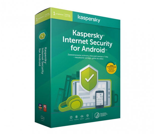 Kaspersky Internet Security Android 1st. (12m.) - 386792 - zdjęcie