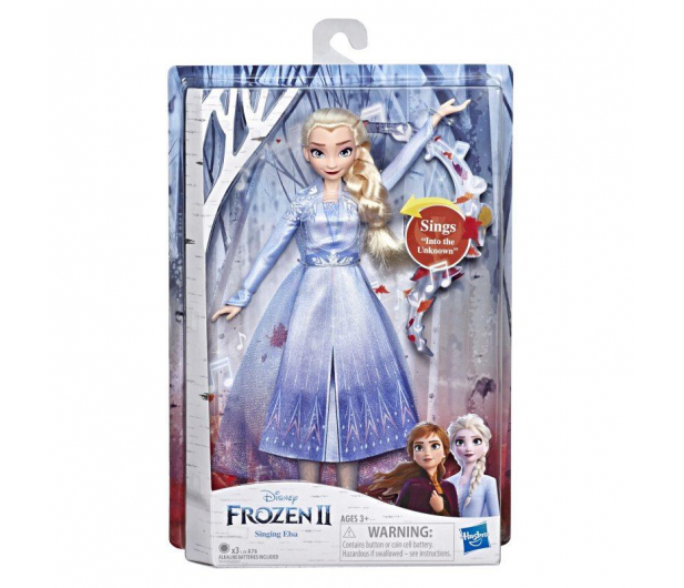 Hasbro Frozen 2 Śpiewająca Elsa Kraina Lodu - 516733 - zdjęcie 4