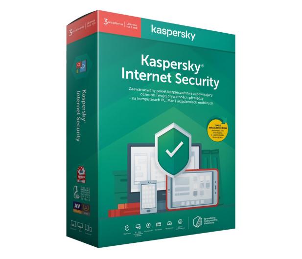 Kaspersky Internet Security Multi-Device 3st. (12m.)  - 386853 - zdjęcie