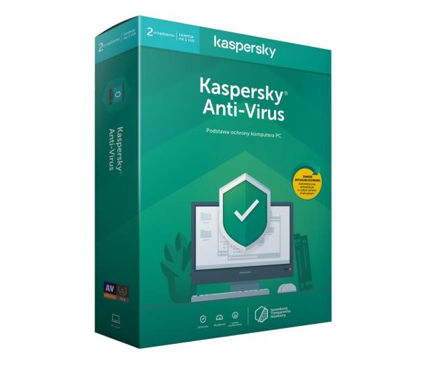 Kaspersky Anti-Virus 2st. (12m.) - 386789 - zdjęcie