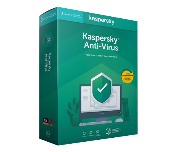 Kaspersky Anti-Virus 3st. (12m.) - 386790 - zdjęcie