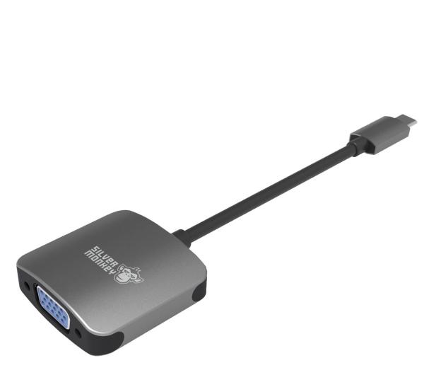 Silver Monkey Adapter USB-C - VGA - 461265 - zdjęcie