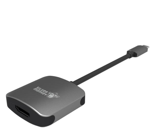 Silver Monkey Adapter USB-C - HDMI - 461266 - zdjęcie