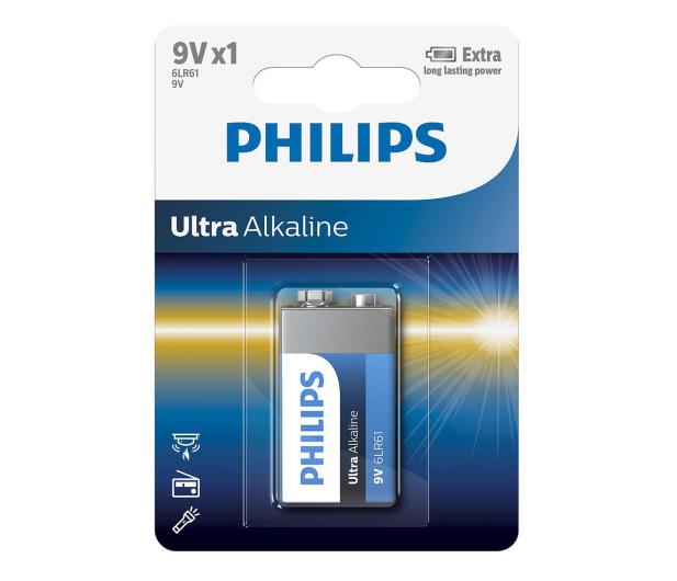Philips Ultra Alkaline 9V (1szt) - 529287 - zdjęcie