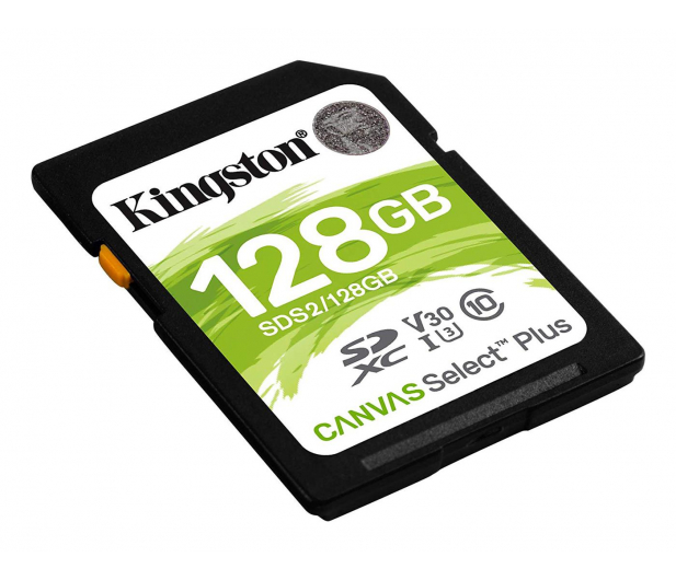 Kingston 128GB Canvas Select Plus odczyt 100MB/s - 529852 - zdjęcie 2