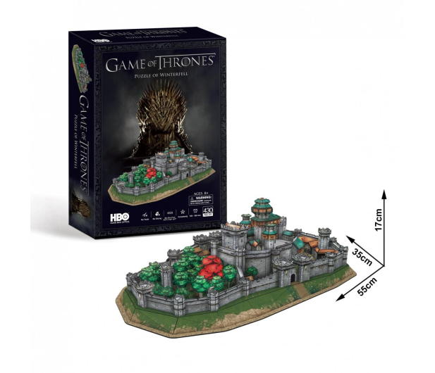 Dante Cubic Fun Game Of Thrones Winterfell - 531398 - zdjęcie 2
