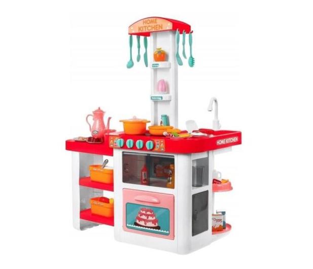 NORIMPEX Kuchnia różowa na baterie - 526694 - zdjęcie