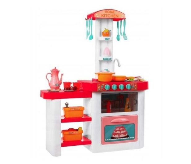 NORIMPEX Kuchnia różowa na baterie - 526694 - zdjęcie 2