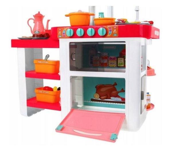NORIMPEX Kuchnia różowa na baterie - 526694 - zdjęcie 3