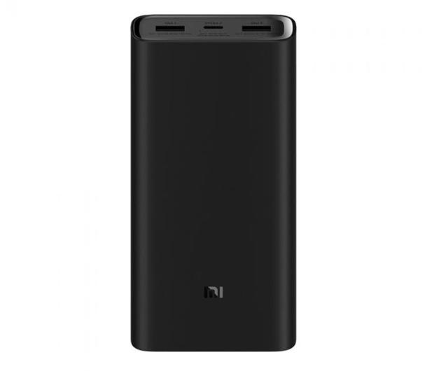 Xiaomi Power Bank 3 Pro 20000 mAh (45W, PD, czarny) - 525653 - zdjęcie
