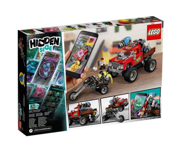 LEGO Hidden Side Samochód kaskaderski El Fuego - 505552 - zdjęcie