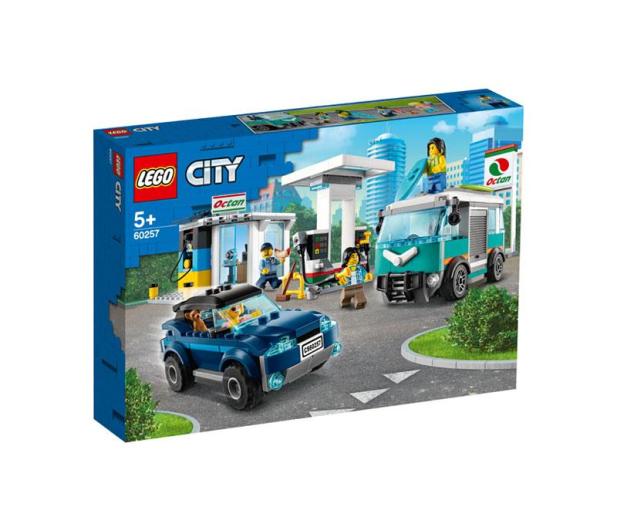 LEGO City Stacja benzynowa - 532603 - zdjęcie