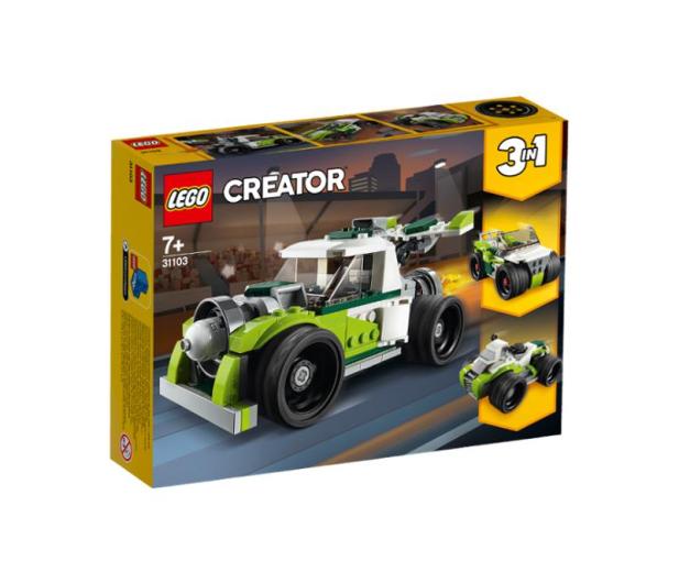 LEGO Creator Rakietowy samochód - 532607 - zdjęcie
