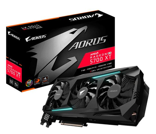 Gigabyte Radeon RX 5700 XT AORUS 8G GDDR6 - 532736 - zdjęcie