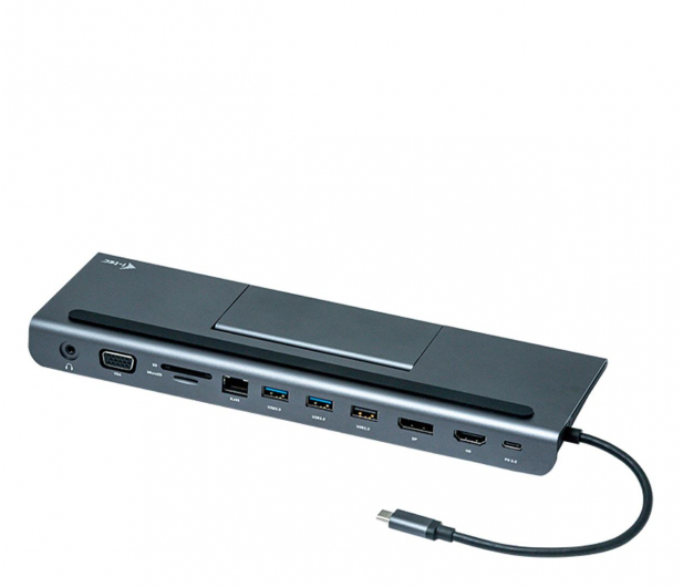 i-tec USB-C Metal Low Profile 4K Triple Display, PD 85W - 503660 - zdjęcie