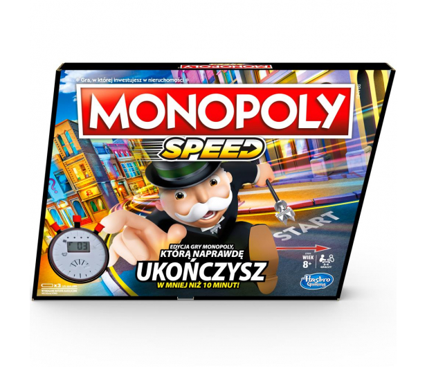 Hasbro Monopoly Speed - 531198 - zdjęcie