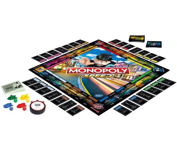 Hasbro Monopoly Speed - 531198 - zdjęcie 2