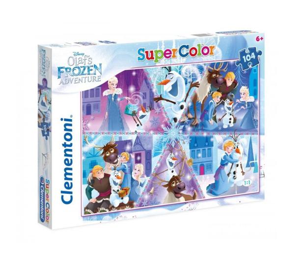 Clementoni Puzzle Disney 104 el. Olaf's Frozen Adventure - 478575 - zdjęcie
