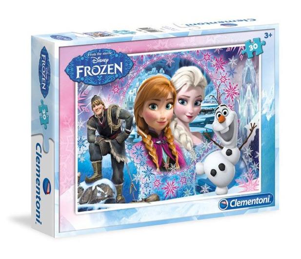 Clementoni Puzzle Disney 30 el. Frozen - 478654 - zdjęcie