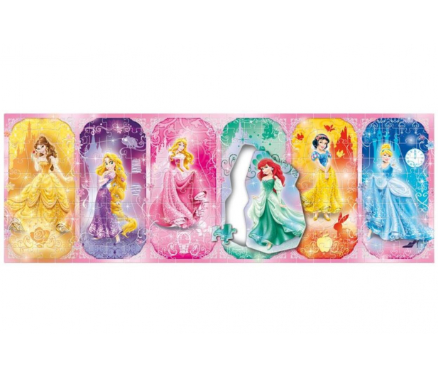 Clementoni Puzzle Disney 250 el. Panorama Parade Princess - 478534 - zdjęcie 2