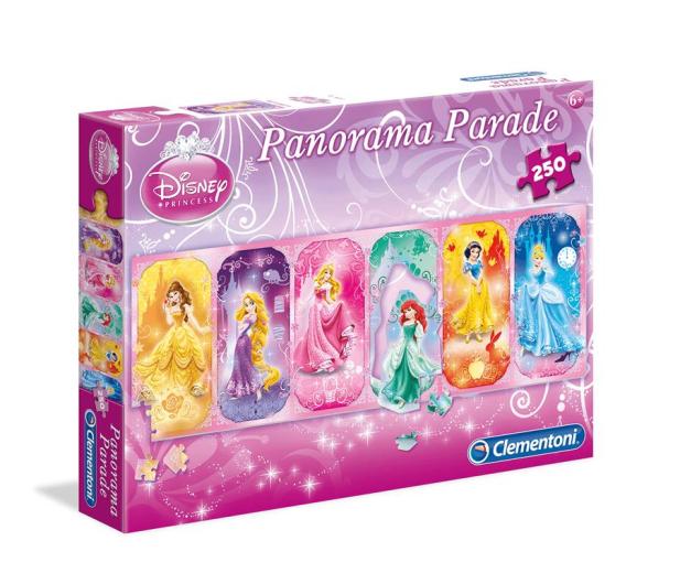 Clementoni Puzzle Disney 250 el. Panorama Parade Princess - 478534 - zdjęcie
