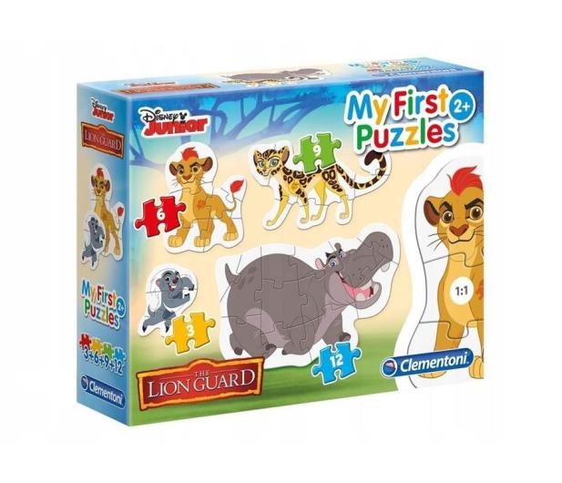 Clementoni Puzzle Disney 3-6-9-12 Moje Pierwsze Puzzle Lion King - 478691 - zdjęcie