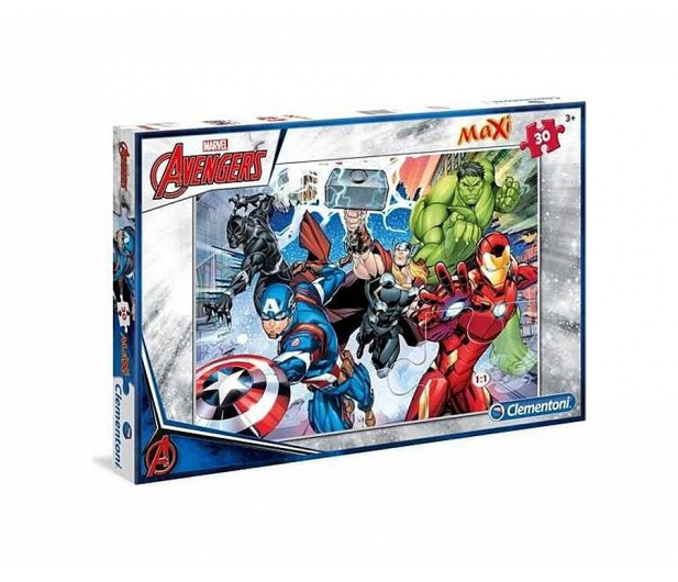 Clementoni Puzzle Disney 30 el. Maxi The Avengers - 478657 - zdjęcie