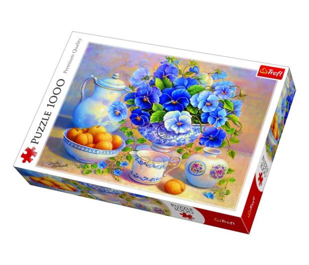 Trefl 1000 el Niebieski kubek  - 479192 - zdjęcie