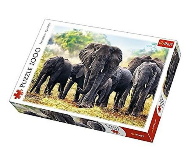 Trefl 1000 el Afrykańskie słonie  - 479194 - zdjęcie
