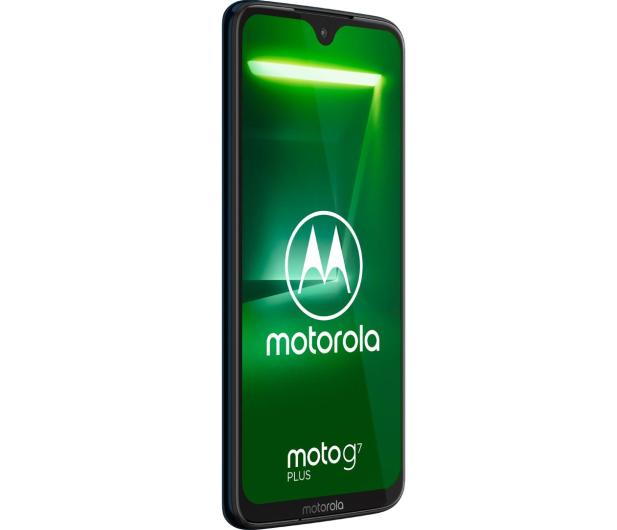 Motorola Moto G7 Plus 4/64GB Dual SIM granatowy + etui - 478819 - zdjęcie 4