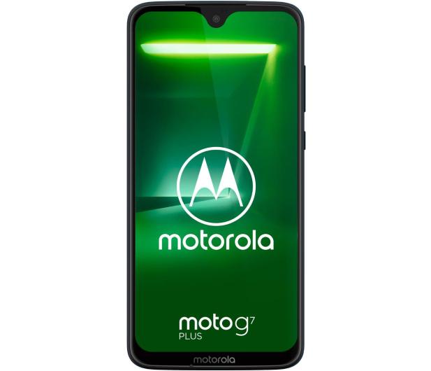 Motorola Moto G7 Plus 4/64GB Dual SIM granatowy + etui - 478819 - zdjęcie 3