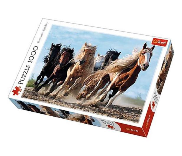 Trefl 1000 el Galopujące konie  - 479198 - zdjęcie