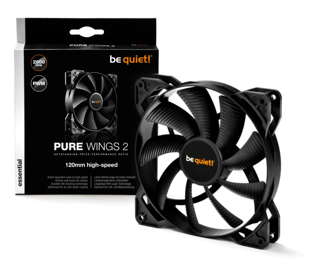 be quiet! Pure Wings 2 120mm  PWM High-Speed - 479809 - zdjęcie 3