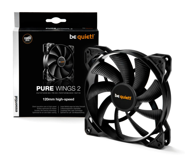 be quiet! Pure Wings 2 120mm High-Speed - 479808 - zdjęcie 3