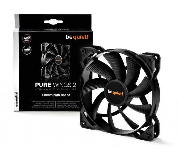 be quiet! Pure Wings 2 140mm  PWM High-Speed - 479818 - zdjęcie 3