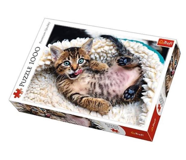 Trefl 1000 el Wesoły kotek - 479216 - zdjęcie