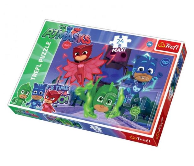 Trefl 24-Maxi Ukryci bohaterowie PJ Masks - 479482 - zdjęcie