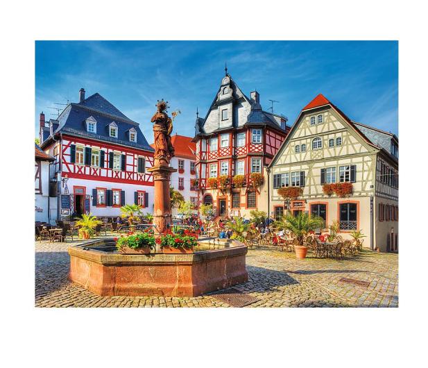 Trefl 3000 el Rynek w Heppenheim Niemcy - 479499 - zdjęcie 2