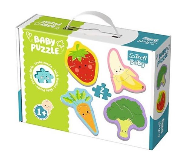 Trefl Baby classic Warzywa i owoce - 479578 - zdjęcie