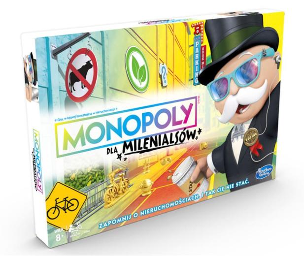Hasbro Monopoly dla Milenialsów - 477725 - zdjęcie