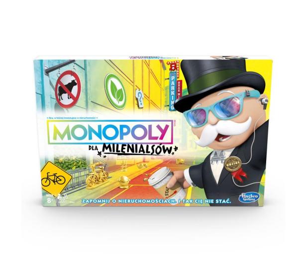 Hasbro Monopoly dla Milenialsów - 477725 - zdjęcie 2
