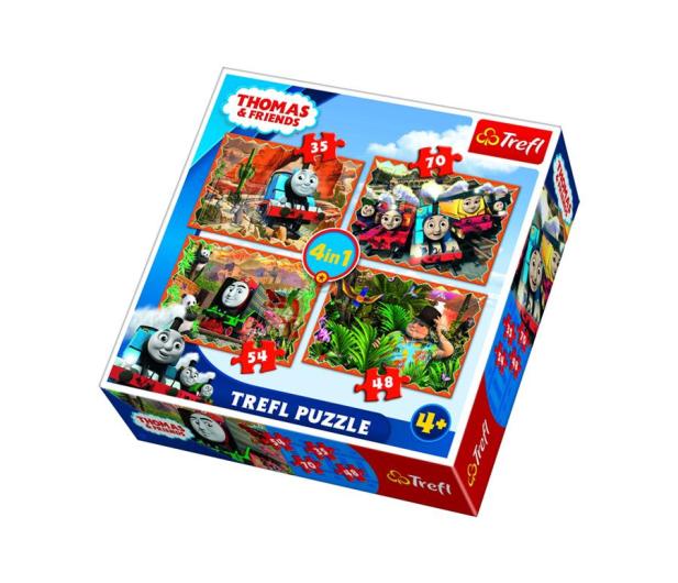 Trefl 4w1 Podróże po świecie Thomas and Friends  - 479520 - zdjęcie