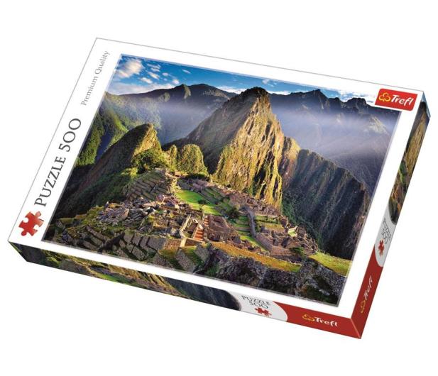 Trefl 500 el Zabytkowe sanktuarium Machu Picchu  - 479563 - zdjęcie