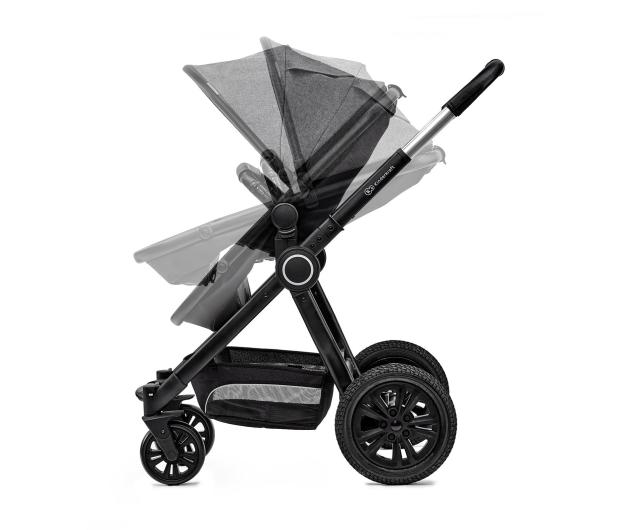 Kinderkraft Veo 2w1 Black/Gray - 463169 - zdjęcie 7