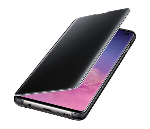 Samsung Clear View Cover do Galaxy S10 czarny - 478342 - zdjęcie